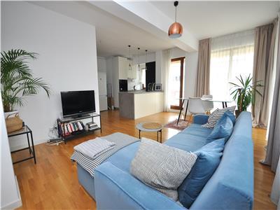 Inchiriere apartament 2 camere bloc nou in zona Baneasa - Aviatiei.
