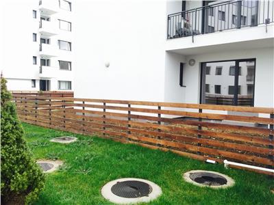 Inchiriere apartament 2 camere Greenfield Baneasa parter/gradina