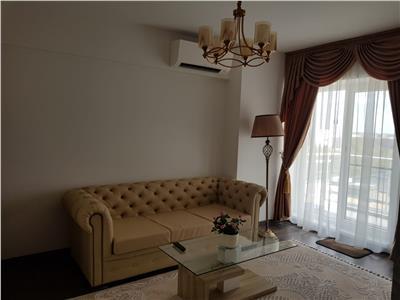 Inchiriere apartament 2 camere lux Barbu Vacarescu complex Belvedere