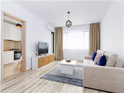 Inchiriere apartament 3 camere baneasa  greenfield mobilat lux