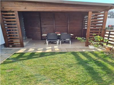 Inchiriere apartament 3 camere  parter gradina baneasa greenfield