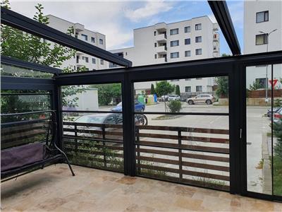 Inchiriere apartament 4 camere parter cu gradina Baneasa Greenfield