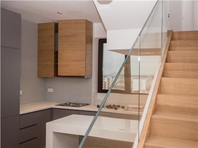 Inchiriere apartament duplex Penthouse 4 camere Aviatiei City Point