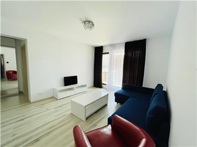 Inchiriere apartament mobilat  2 camere cu gradina Baneasa Greenfield