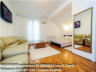 INCHIRIERE garsoniera FLOREASCA (str. G. Verdi)
