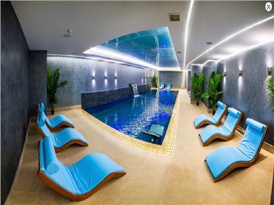 Inchiriez Ap. 3 camere MRS Residence Baneasa, piscina, spa, parcare.