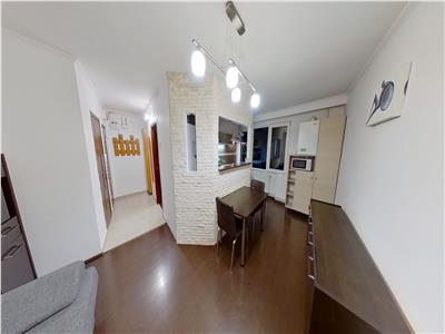 Inchiriez apartament cu 2 dormitoare mobilat si utilat modern-cornisa.