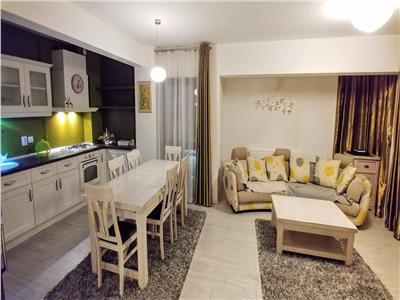 Inchiriez apartament 3 camere mobilat si utilat lux In Tudor