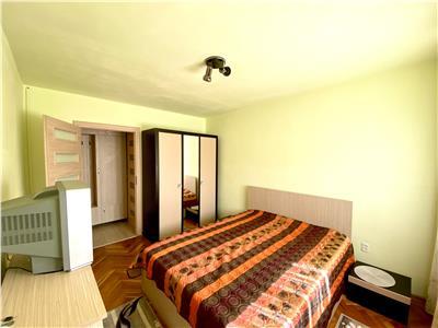 Inchiriez apartament cu 2 camere in Dambu Pietros, complet mobilat