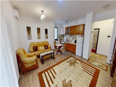 Inchiriez apartament cu 2 camere mobilat modern in zona centrala