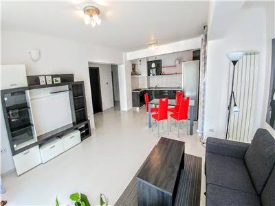 Inchiriez apartament cu 2 camere mobilat si utilat lux