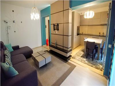 Inchiriez apartament cu 3 camere mobilat lux, str pandurilor zona eon