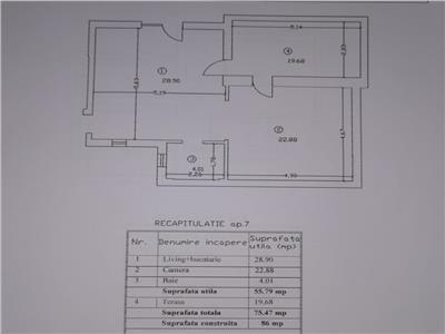 Mansarda 2 camere cu terasa 20 mp sos chitilei mezes