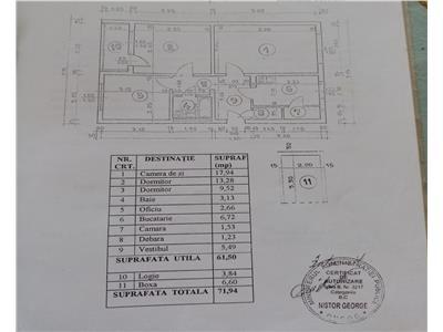 Militari, valea ialomiței,ap 3 camere,decomandat 71 mp