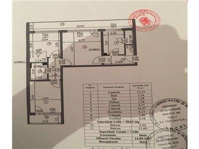 Oferta apartament 3 camere. crangasi, calea giulesti