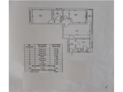 Oferta apartament 3 camere, Crangasi, Constructorilor