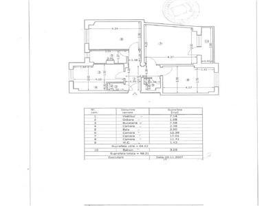 Oferta apartament 3 camere, Teiul Doamnei, Tei