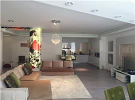 Vanzare apartament 4 camere lux Herastrau mobilat inchiriat