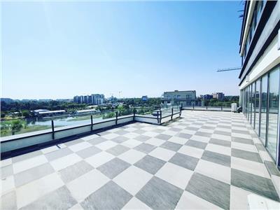 Penthouse vedere spectaculoasa spre lac-laguna residence -80 mp terasa