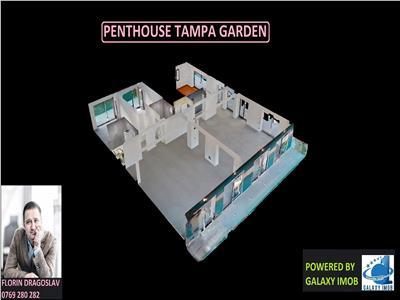 Penthouse UNICAT la Tampa Gardens, 237 mp utili, 90+150 mp terase