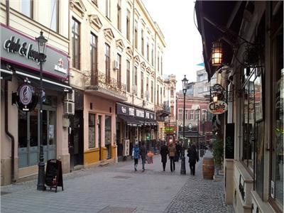 Spatiu comercial Centrul Vechi Lipscani, dubla deschidere, renovat