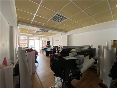 Spatiu comercial si 3 birouri, 140 mp, stradal Cantacuzino, Ploiesti