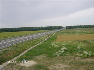 Teren  Snagov 6000 mp acces Nod Autostrada A3