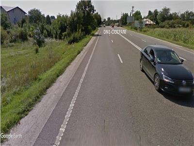 Teren  Ciolpani Silistea Snagov  la DN1 Comercial 6700 mp