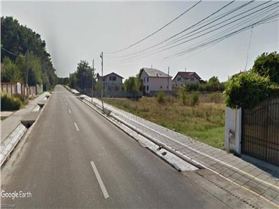 Teren 7143 mp la Drum Judetean Ciofliceni Snagov spre Lac