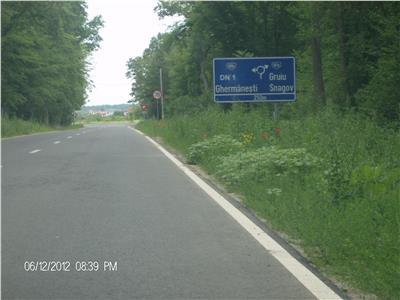 Teren 7500 mp Snagov sosea acces Nod Autostrada A3