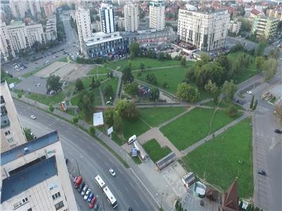 Teren centrul civic vis a vis mall-ul afi