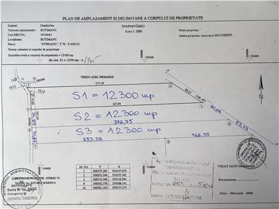 Teren agricol 2 parcele a cate 12300 mp