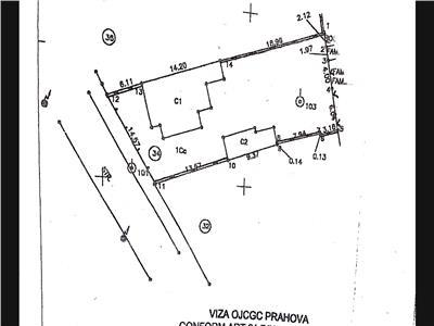 Teren in suprafata de 510 mp, zona centrala, Ploiesti