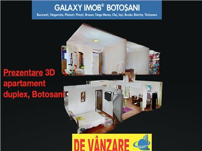 Tur virtual 3d, apartament duplex 135 mp. zona primaverii, piata mica!