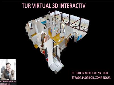 Tur virtual 3d interactiv - 2 camere in mijlocul naturii