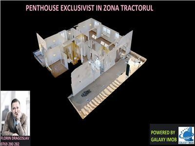 Tur virtual 3d interactiv - penthouse exclusivist de 4 camere