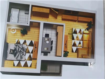 Va ofer spre Vanzare un Apartament cu 2 camere la Parc la Moghioros