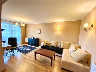 Vand apartament cu 2 camere, mobilat si utilat, acta residence (tudor)