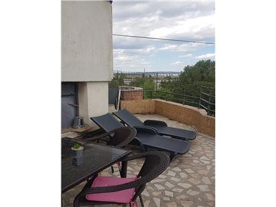 Duplex de lux  etaj 4 si 5 cu 4 camere decomandat  mobilat/utilat