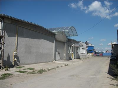 Vand hala de productie mobilier,depozit si showroom
