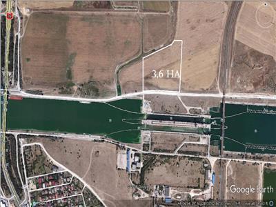 Vand teren extravilan  agigea, judetul constanta, 3,6 ha.