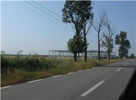 Vand teren extravilan pentru constructii industriale