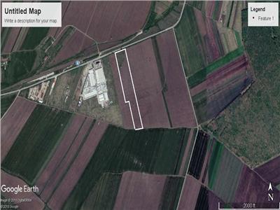 Vand teren industrial 6,8 ha Craiova