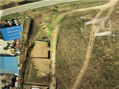 vand teren pt hala 750 mp  la dn3,km15  certificat de urbanism mixt