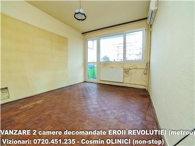VANZARE 2 camere decomandate - Soseaua Viilor - 3 minute metrou E.R.
