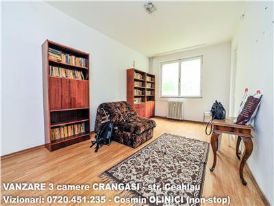 VANZARE 3 camere decomandate CRANGASI - str. Ceahlau