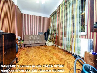 VANZARE 3 camere in vila CALEA VITAN