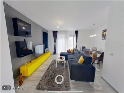 Vanzare 3 camere  mobilat lux baneasa complex felicity tur virtual