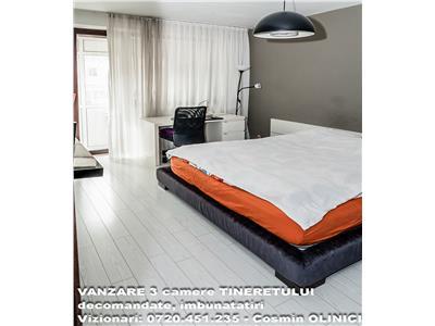 VANZARE 3 camere TINERETULUI, decomandate