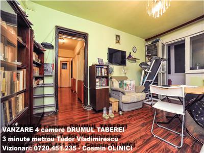 Vanzare 4 camere drumul taberei metrou tudor vladimirescu